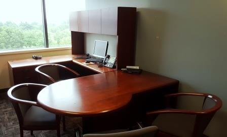 Steelcase Modular Contemporary Desk And Hutch