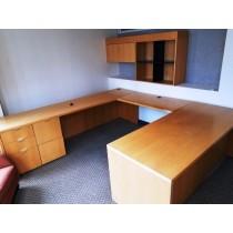 Haworth - U Shaped Desk