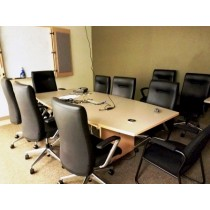 8' - Conference Table with Executive Chairs