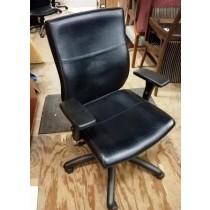 "Global - ""Malaga"" Leather Chair"