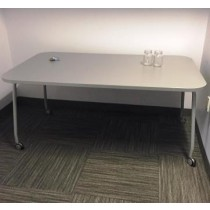 Mobile Laminated Work Table